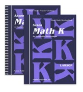 Saxon Math K, Home Study Kit