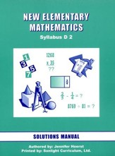 Singapore Math: New Elementary Math Solution Manual 2