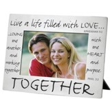 Together Silver Photo Frame