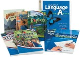 Abeka Grade 4 Homeschool Child Language Arts Kit