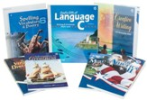 Grade 6 Homeschool Child Language Arts Kit