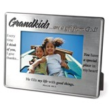 Grandkids, are a Gift From God, Photo Frame