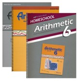 Abeka Grade 6 Homeschool Parent Arithmetic Kit
