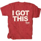 I Got This Shirt, Red, XX-Large