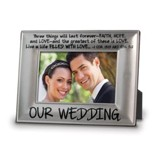 Our Wedding Photo Frame