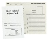Record Keeping Kit for Home School Students, High School Edition