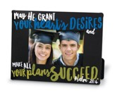 Graduate Success Photo Frame, Black