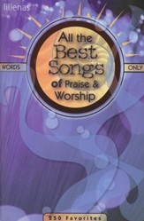 All The Best Songs-Praise/Worship, Words Only
