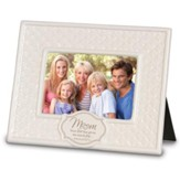 Mom, Pattern Photo Frame