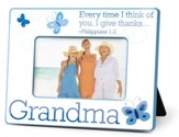 Grandma Photo Frame, Philippians 1:3
