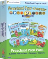 Preschool Prep 4-DVD Pack