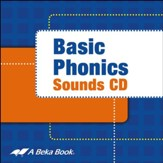 Abeka Basic Phonics Sounds--CD Grades K4-2