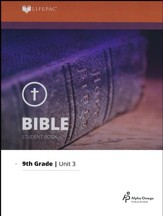 Lifepac Bible Grade 9 Unit 3: The Acts of the Apostles
