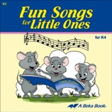 Abeka Fun Songs for Little Ones K4 Audio CD