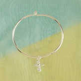 Heavenly Angel Bangle Bracelet
