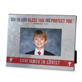 Confirmation, May the Lord Bless You and Protect You Photo Frame
