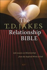 The KJV T.D. Jakes Relationship Bible, hardcover  - Slightly Imperfect