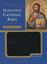 Ignatius Catholic Bible Large Print