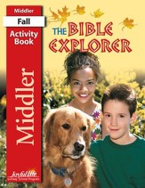 Bible Explorer Middler (Grades 3-4) Activity Book