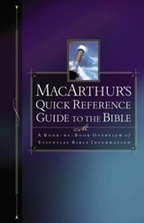 MacArthur's Quick Reference Guide to the Bible - eBook