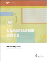 Lifepac Language Arts Grade 3 Unit 1: Old and New Skills