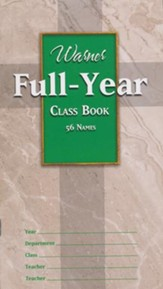 Full Year Class Book (56 names)