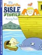 My Favorite Bible Stories, Ages 6-10 Activity Book