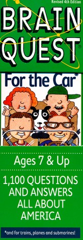 Brain Quest For the Car; 4th Edition