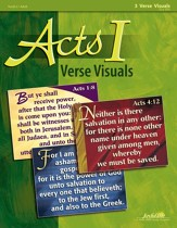 Acts I Ch. 1-12: Early Church History, Youth 2 to Adult Bible Study, Key Verse Visuals