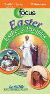 Easter, Esther, & Parables Youth 1 (Grades 7-9) Focus (Student Handout)