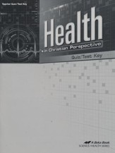 Health in Christian Perspective Quizzes/Tests Key