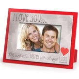 Love Deeply Photo Frame