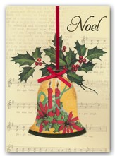 Holly & Bell Christmas Cards, Box of 12