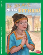 Be Brave Queen Esther Coloring Activity (4-7)