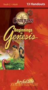 Beginnings in Genesis Ch. 1-11: Creation, Flood, Babel Adult Bible Study Weekly Compass Handouts