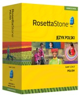 Rosetta Stone Polish Levels 1,2 & 3 Set with Audio Companion Homeschool Edition, Version 3