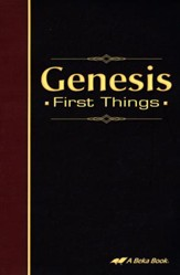 Abeka Genesis: First Things