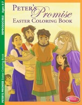 Peter's Promise Easter Coloring Book (ages 4-7)