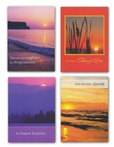 Sunsets, Sympathy Cards, Box of 12