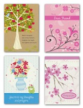 Illustrated, Thinking Of You Cards, Box of 12