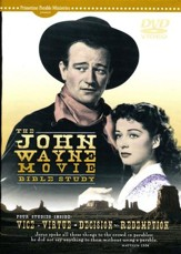The John Wayne Movie Bible Study: DVD Leader Pack