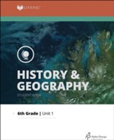 Lifepac History & Geography Grade 6 Unit 1: World Geography