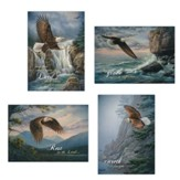 On Eagle's Wings Get Well Cards, Box of 12