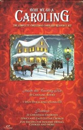 Here We Go A Caroling Split Track CD + 10 Songbooks