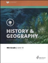Lifepac History & Geography Grade 9 Unit 10: Man in a Changing World