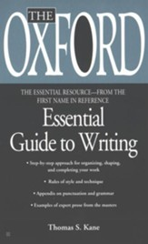 The Oxford Essential Guide to Critical Writing