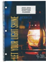 God's Word in Time Scripture Planner: Let Your Light Shine  Secondary Teacher Edition (ESV Version; July 2015 - June  2016)
