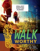 God's Word in Time Scripture Planner: Walk Worthy Secondary  Student Edition (NAB Version; July 2016 - June 2017)