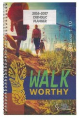 God's Word in Time Scripture Planner: Walk Worthy Secondary  Student Edition (NAB Edition; Small; July 2016 - June 2017)