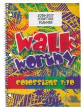 God's Word in Time Scripture Planner: Walk Worthy Elementary Teacher Edition (ESV Version; July 2016 - June 2017)
